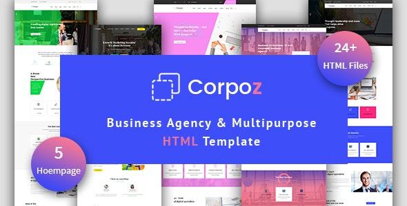 Corpoz - Business Agency Multipurpose HTML Template - Business Corporate