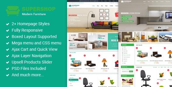 Supershop - Premium Multipurpose Magento Theme - Shopping Magento