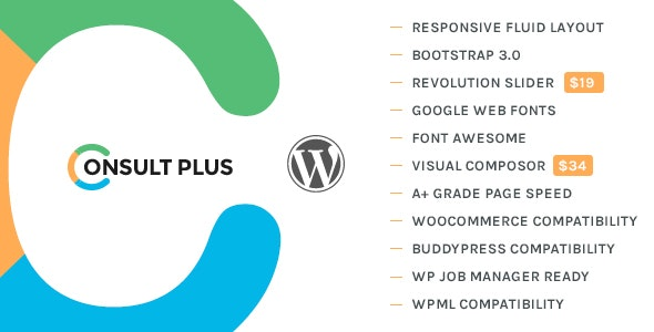 ConsultPlus - Corporate Business WordPress Theme - Business Corporate
