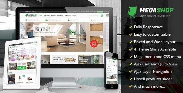 Megashop - Multipurpose Responsive Magento Theme - Shopping Magento