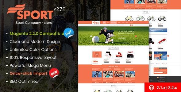 SM Sport - Multipurpose Responsive Magento 2 Theme - Shopping Magento