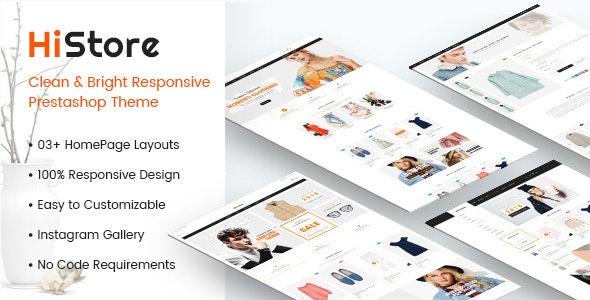 HiStore - Clean and Bright Responsive PrestaShop 1.7 Theme - PrestaShop eCommerce