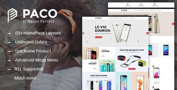 Paco - Responsive Multipurpose PrestaShop Theme