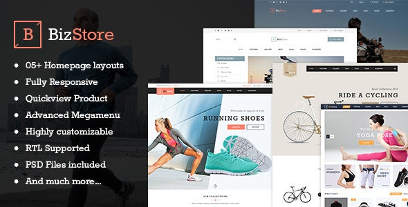 Bizstore - Responsive Premium PrestaShop Theme - Shopping PrestaShop