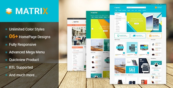 Matrix - Multipurpose Responsive PrestaShop Theme - Shopping PrestaShop