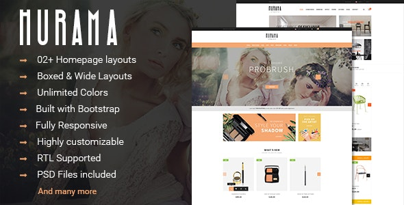 Hurama - Multipurpose Responsive PrestaShop Theme - Shopping PrestaShop