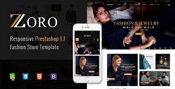 Zoro - Responsive PrestaShop 1.7 Shopping Theme - Shopping PrestaShop
