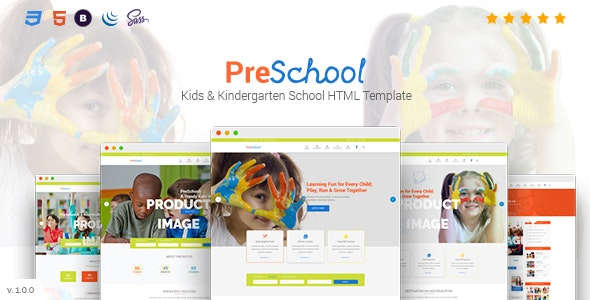 PreSchool - Education Primary School For Children - Children Retail