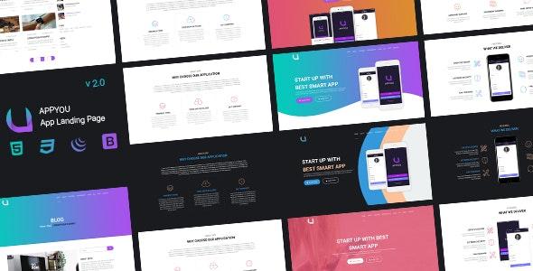 APPYOU - App Landing Page - Site Templates