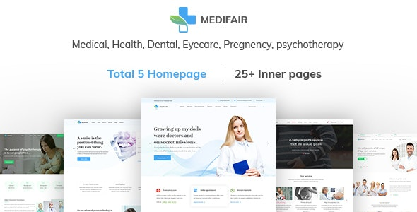 MEDIFAIR - Medical, Health, Dental and Clinical HTML 5 Template - Health & Beauty Retail