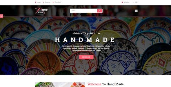 Handicraft - Product Shop Template