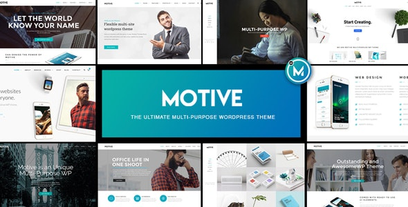 Motive - Multi-Purpose WordPress Business Theme - Business Corporate