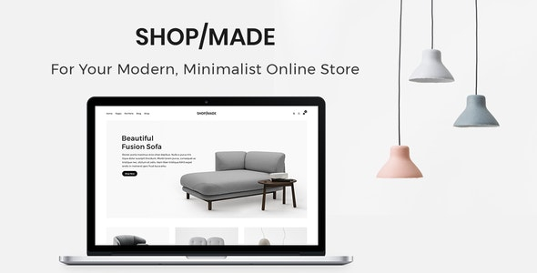 Shop Made - A Modern, Minimalist eCommerce  Template - Shopping Retail