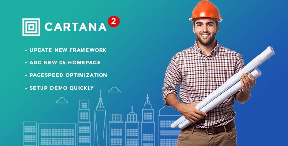 Cartana - Building and Construction WordPress Theme - Business Corporate