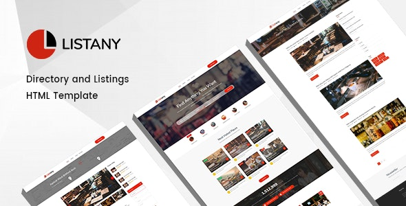 Listany - Directory and Listings HTML Template - Business Corporate