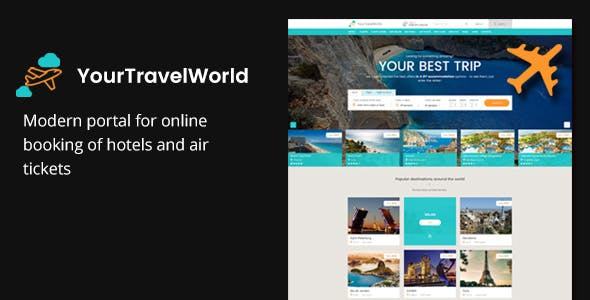 YTW — Online Travel Booking HTML Template