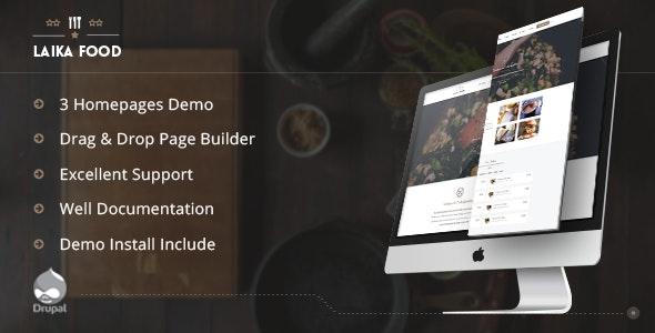 Laikafood - Restaurant, Cafe & Food Drupal Theme - Food Retail