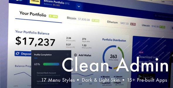 Light Admin - Clean Bootstrap 4 Dashboard HTML Template with Crypto - Admin Templates Site Templates
