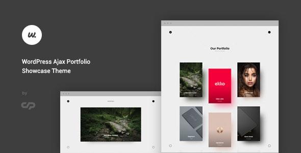 Wizzaro - WordPress Ajax Portfolio Showcase Theme - Creative WordPress