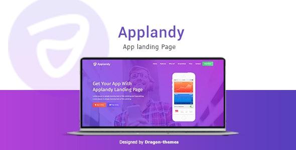 Applandy - App Landing Page - Apps Technology