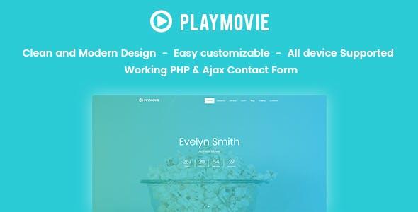 PlayMovie -  Video Blog Entertainment