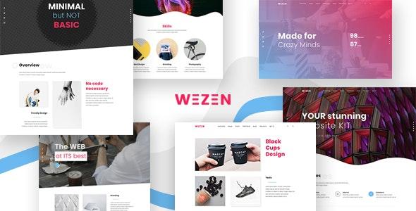 Wezen - Creative Portfolio WordPress Theme - Creative WordPress