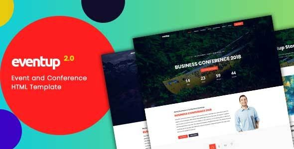 Eventup - Event and Conference HTML Template - Corporate Site Templates