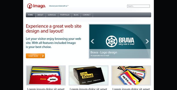Imago - Business and Portfolio Template