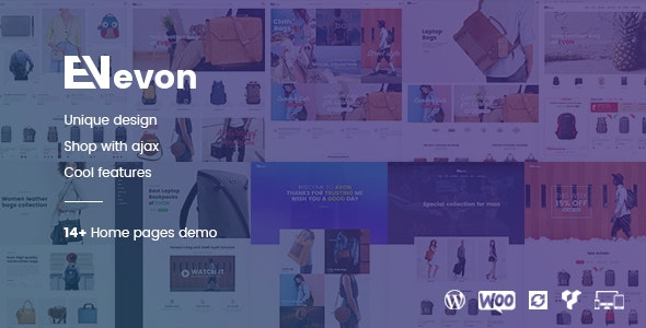 Evon - Bag Store WooCommerce WordPress Theme - WooCommerce eCommerce