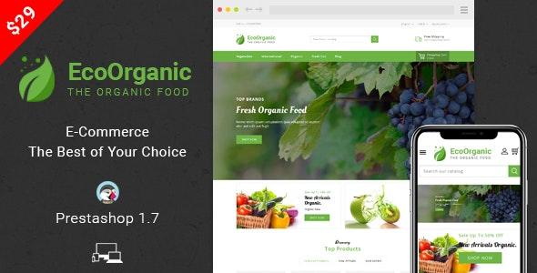 EcoOrganic - Prestashop 1.7 Responsive Theme - Health & Beauty PrestaShop
