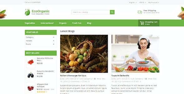 EcoOrganic - Prestashop 1.7 Responsive Theme