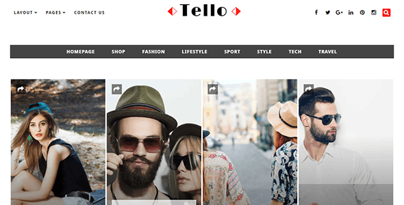 Tello - WordPress Magazine/Blog Theme - News / Editorial Blog / Magazine