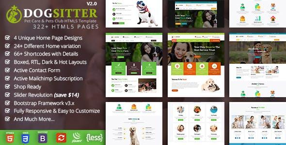 Dog Sitter HTML
