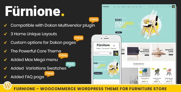 Furnione - WooCommerce WordPress Theme for Furniture Store - Retail WordPress