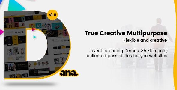 Dana - Ultimate Multi-Purpose Corporate Business and Agency PSD Template - Corporate Photoshop