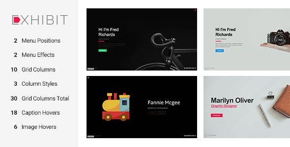 Download Exhibit - Portfolio Muse Template