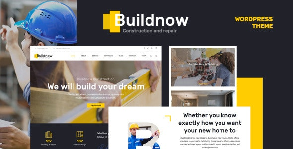 Buildnow - Construction & Building WordPress Theme - Business Corporate