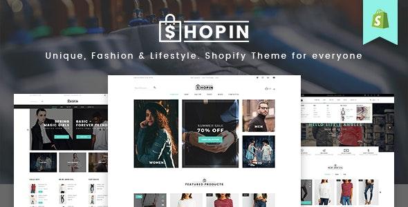 Shopin - Mutilpurpose eCommerce PSD Template - Retail Photoshop