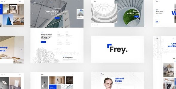 Frey – Contemporary Architecture & Portfolio WordPress Theme - Portfolio Creative