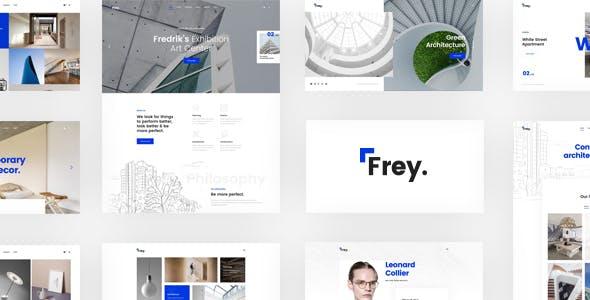 Frey – Contemporary Architecture & Portfolio WordPress Theme
