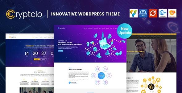Cryptcio - Innovative WordPress Theme - Technology WordPress