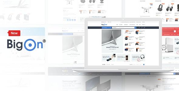 Bigon eCommerce HTML Template