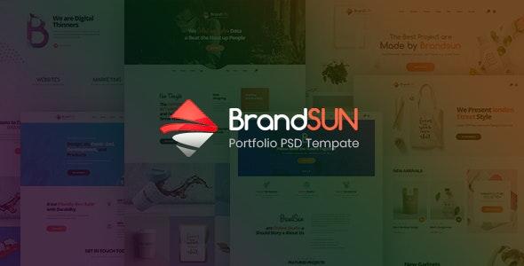 Brandsun - Multi-Purpose PSD Template - Creative Photoshop