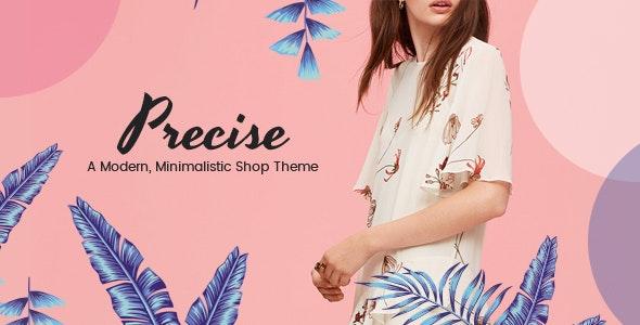 Precise - A Modern, Minimalistic Shop Theme - WooCommerce eCommerce