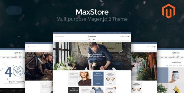 MaxStore - Multipurpose Magento 2 Theme