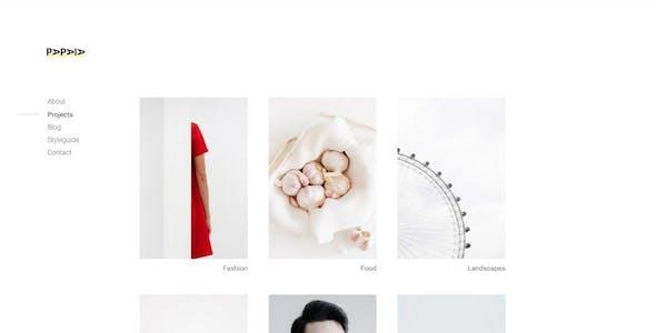 Papaia - Photography & Portfolio WordPress Theme