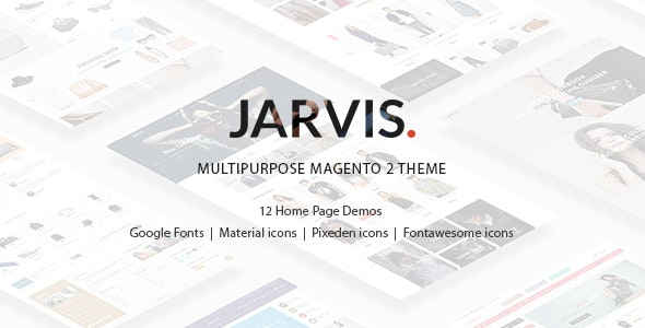 Jarvis - Multipurpose Magento 2 Theme by vicomage | ThemeForest