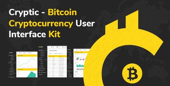 Cryptic - Crypto UI Kit - Admin Templates Site Templates