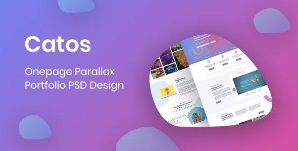 Catos - Portfolio PSD Design - Portfolio Creative