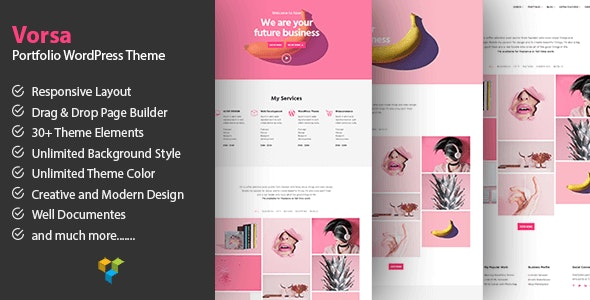 Vorsa - Portfolio & Agency WordPress Theme - Portfolio Creative